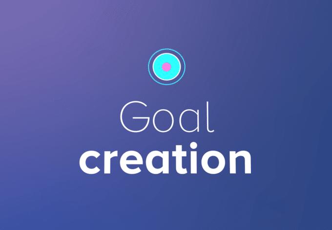 Create a goal