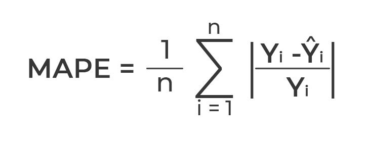 MAPE formula for data scientist