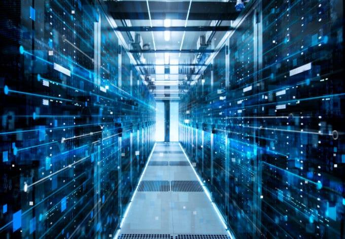 Data center for data sets