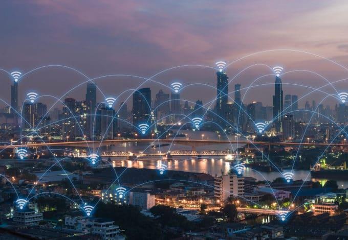 Connections internet à travers le monde